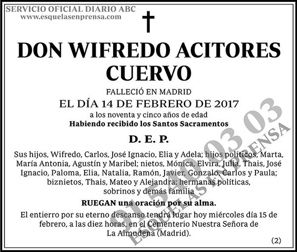 Wifredo Acitores Cuervo